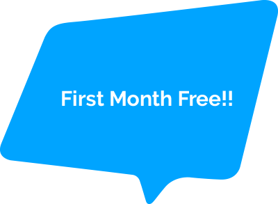 First month free!